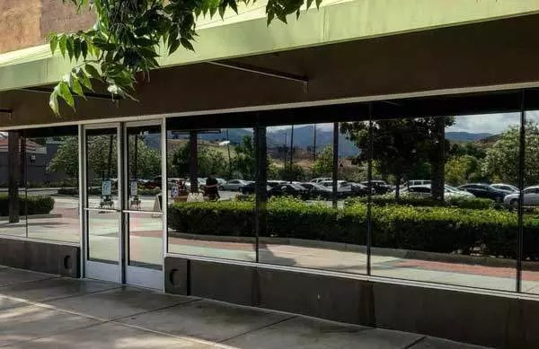 Commercial Solar Window Tinting - Mirrored Film