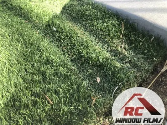 Why is my artificial grass melting?