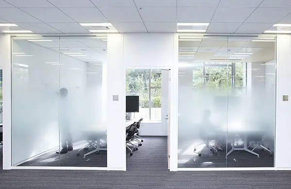 Commercial Frosted Window Film for Meeting Privacy