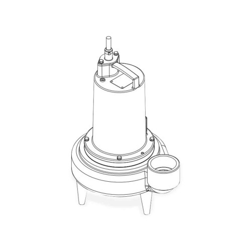 small resolution of barnes barnes 3se2044l submersible sewage ejector pump 2 0 hp 460v 3ph 30 cord manual brn132754