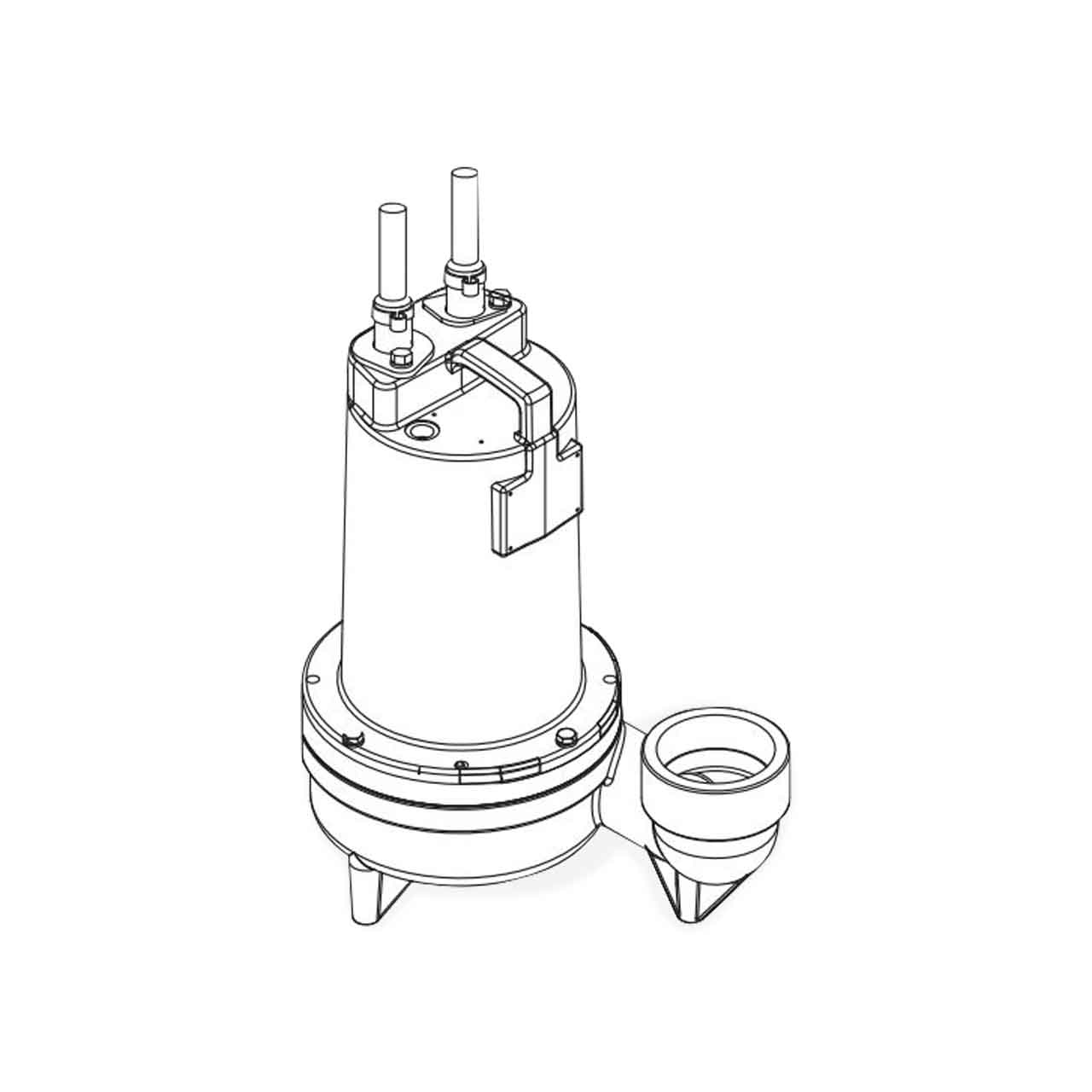 hight resolution of barnes barnes 3se2022l submersible sewage ejector pump 2 0 hp 230v 1ph 30 cord manual brn132848