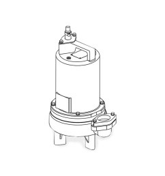 barnes barnes 2sev1044l submersible sewage ejector pump 1 0 hp 460v 3ph 20 cord manual brn104938 [ 1280 x 1280 Pixel ]