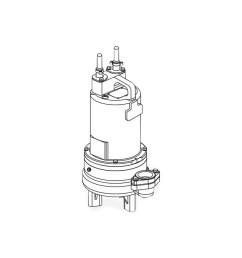 barnes barnes 2sev1094ds submersible double seal sewage ejector pump 1 0 hp 200 230v 3ph 20 cord manual brn104941 [ 1280 x 1280 Pixel ]