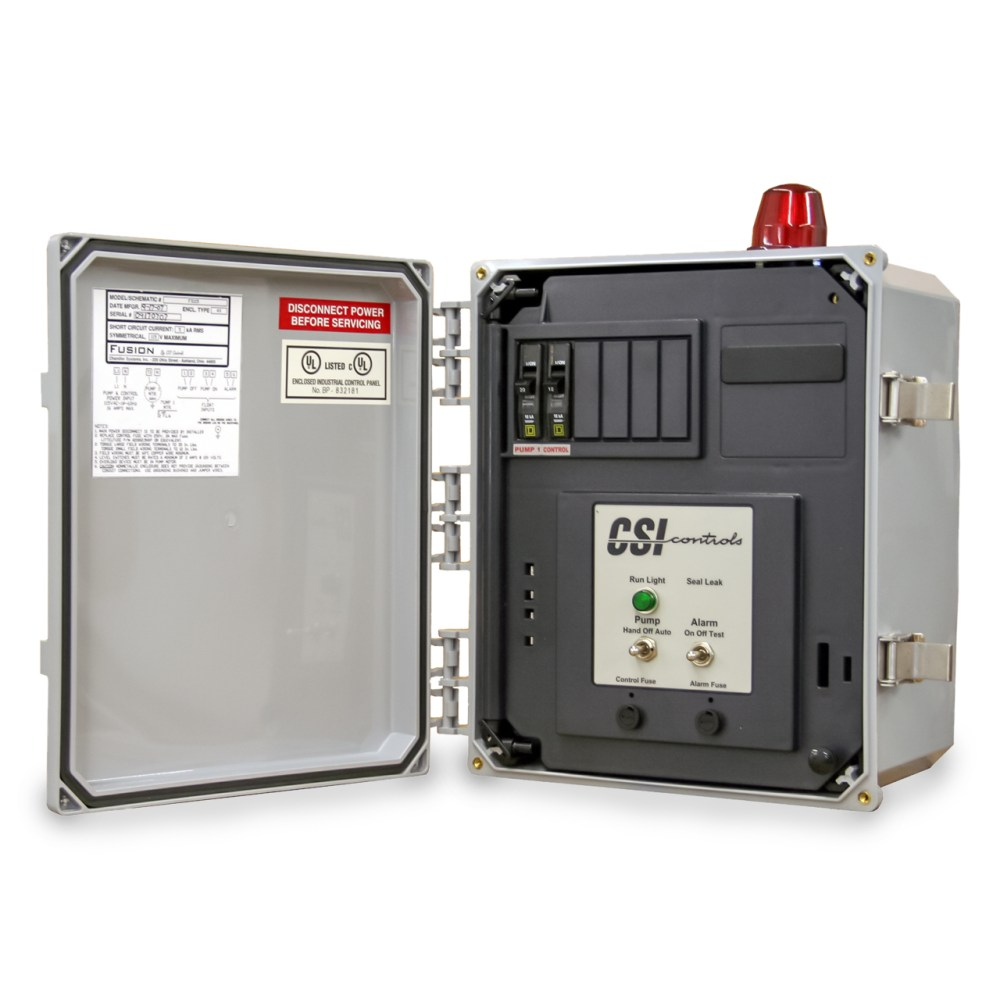 medium resolution of csi controls csi controls fs230cb fusion simplex pump panel 230v 12fla csifs230cb
