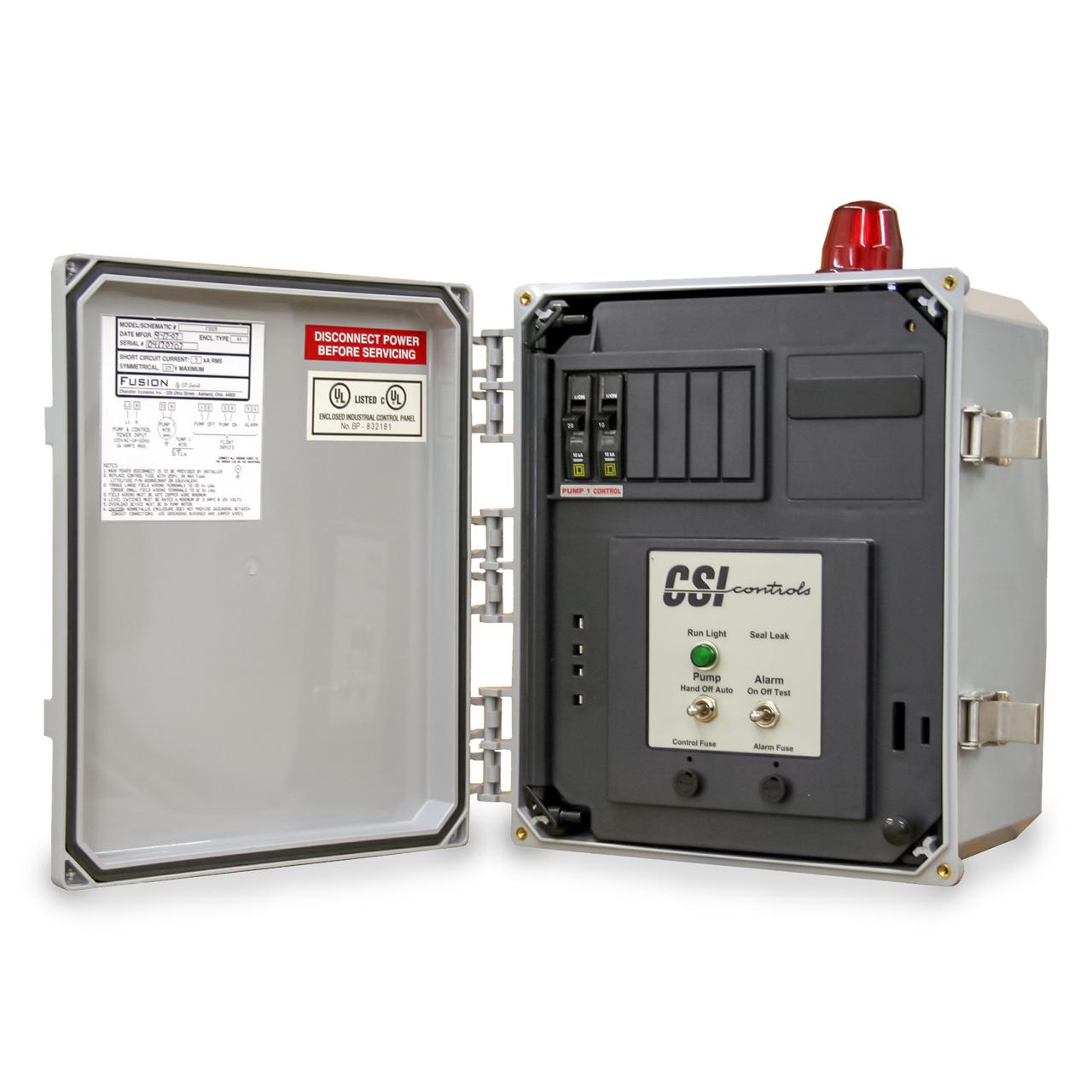 hight resolution of csi controls csi controls fs230cb fusion simplex pump panel 230v 12fla csifs230cb