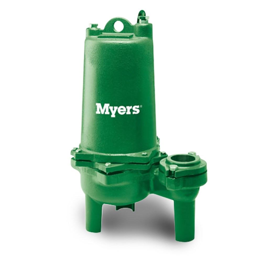 medium resolution of myers myers whr15h 21 high head sewage pump 1 5 hp 230v 1 ph manual