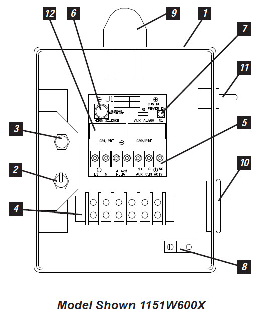 Wiring Diagram For Simplex Pump Panel