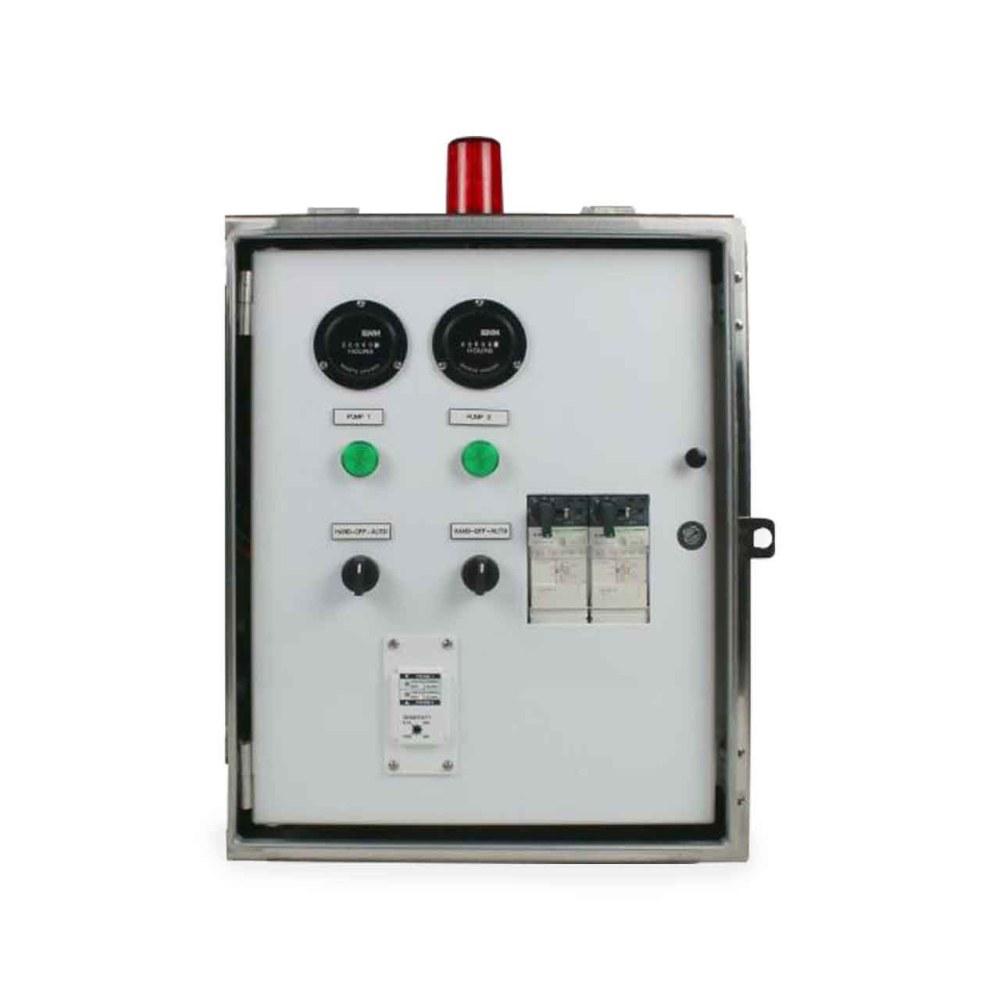 medium resolution of sje rhombus sje rhombus model 32s 3 phase duplex motor contactor control panel cp sje10