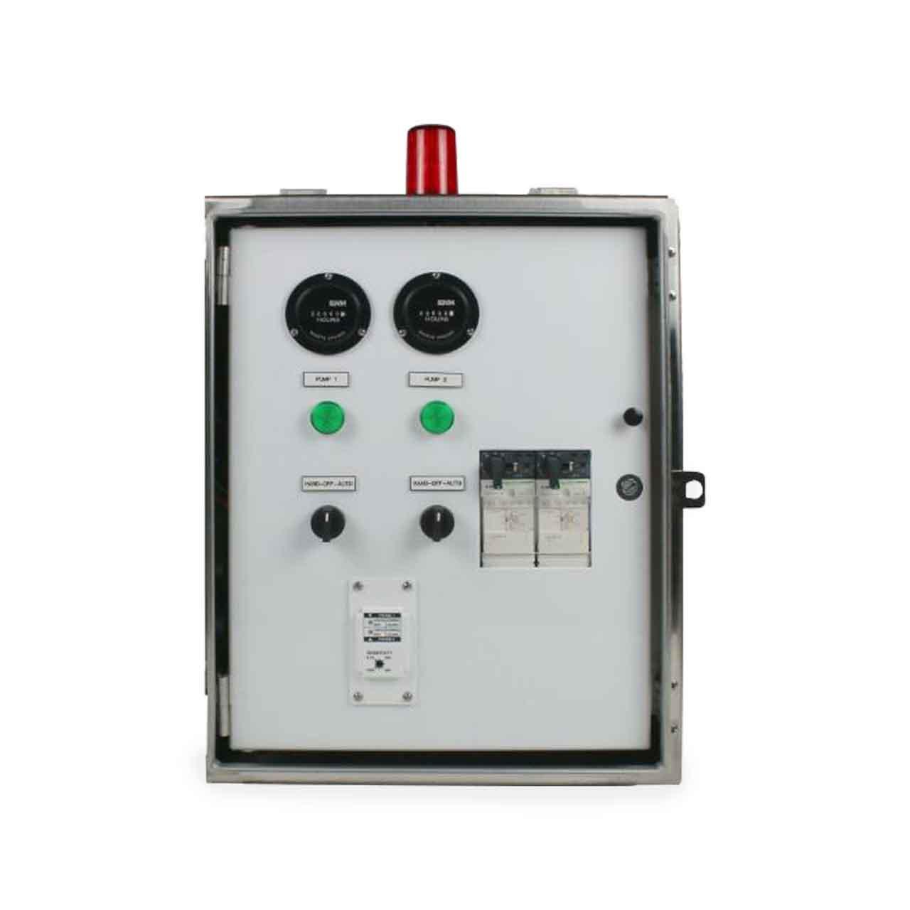 hight resolution of sje rhombus sje rhombus model 32s 3 phase duplex motor contactor control panel cp sje10