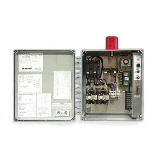 small resolution of sje rhombus sje rhombus model dtd timed dosing duplex 120 208 240 vac single phase motor contactor control panel cp sjedtd