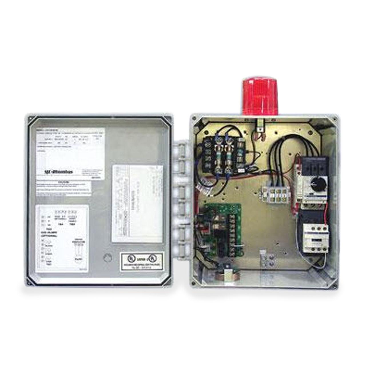 hight resolution of sje rhombus sje rhombus model 312 3 phase 208 240 480 600v simplex motor contactor control panel cp sje312