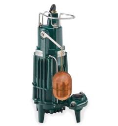 zoeller zoeller 161 0071 model mx161 explosion proof high head effluent pump 0 5 hp 115v 1ph 20 cord automatic zlr161 0071 [ 1280 x 1280 Pixel ]