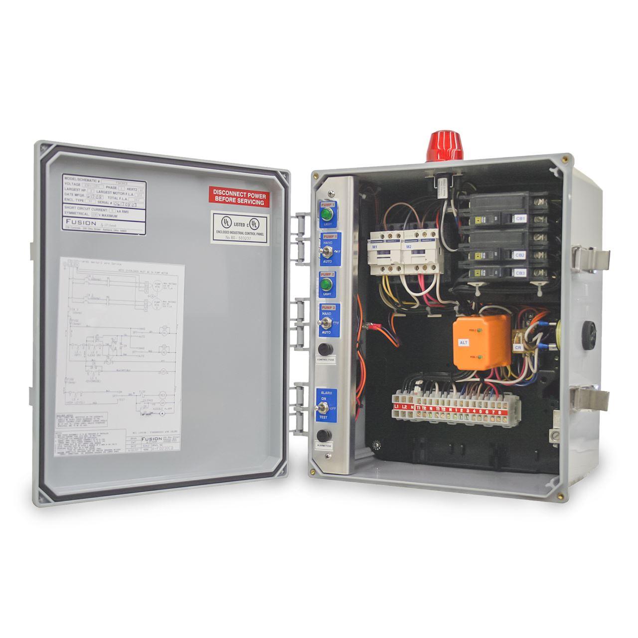 diagram 87a jeep fuel pump relay csi controls csi controls fd230cb fc20 x fusion duplex pump panelcsi controls fd230cb fc20 x fusion [ 1280 x 1280 Pixel ]
