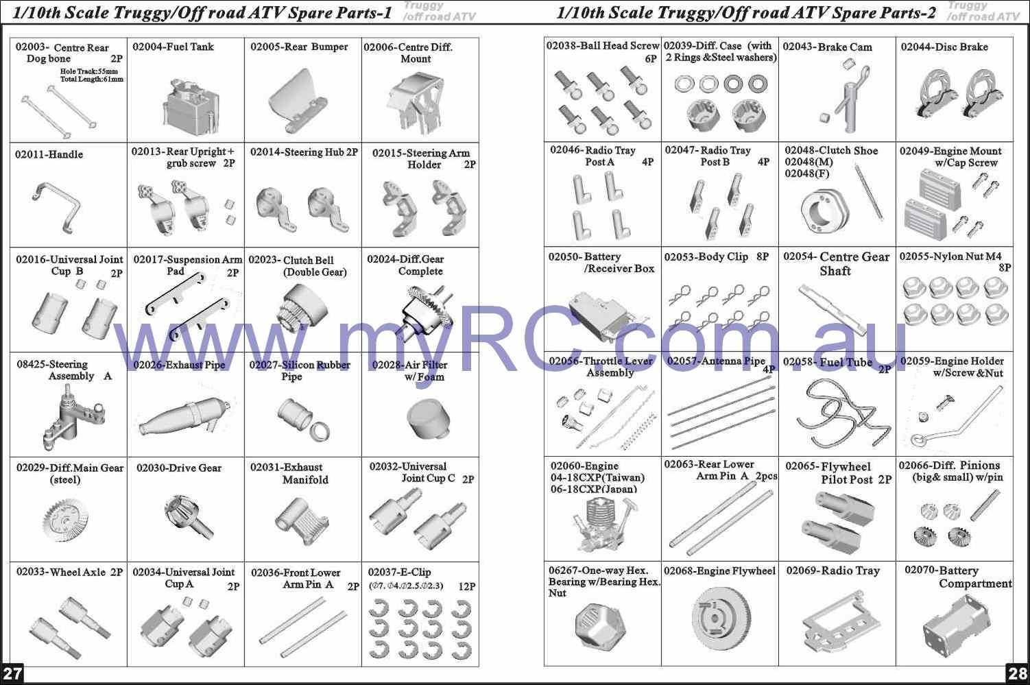 Cars Parts Nitro Rc Cars Parts