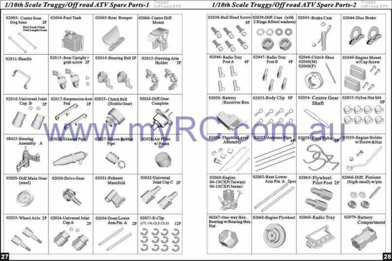 Automotive Spare Parts List | Motorjdi.co