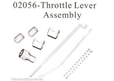 02056 Throttle Linkage Brake Lever Spring Assembly