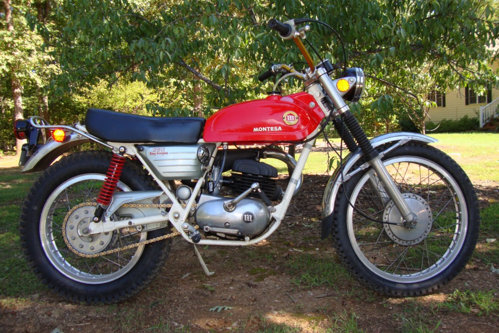 3 Wire Tail Light Wiring Diagram Randy S Cycle Service Amp Restoration 1971 Montesa King