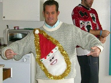 Ugly Christmas Sweaters 15 Funny Tacky Photos Readers