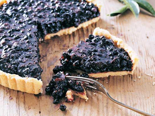 Blueberry-Orange Tart