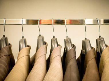 suits closet hanger