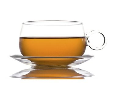Rinse with tea