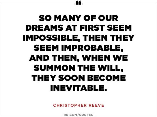 graduation quotes christopher reeve