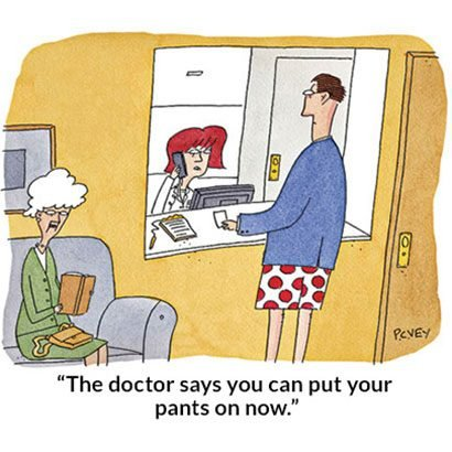 medical care cartoons - funny doctor
