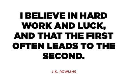 8 J.K. Rowling Quotes to Motivate You Through Any Slump
