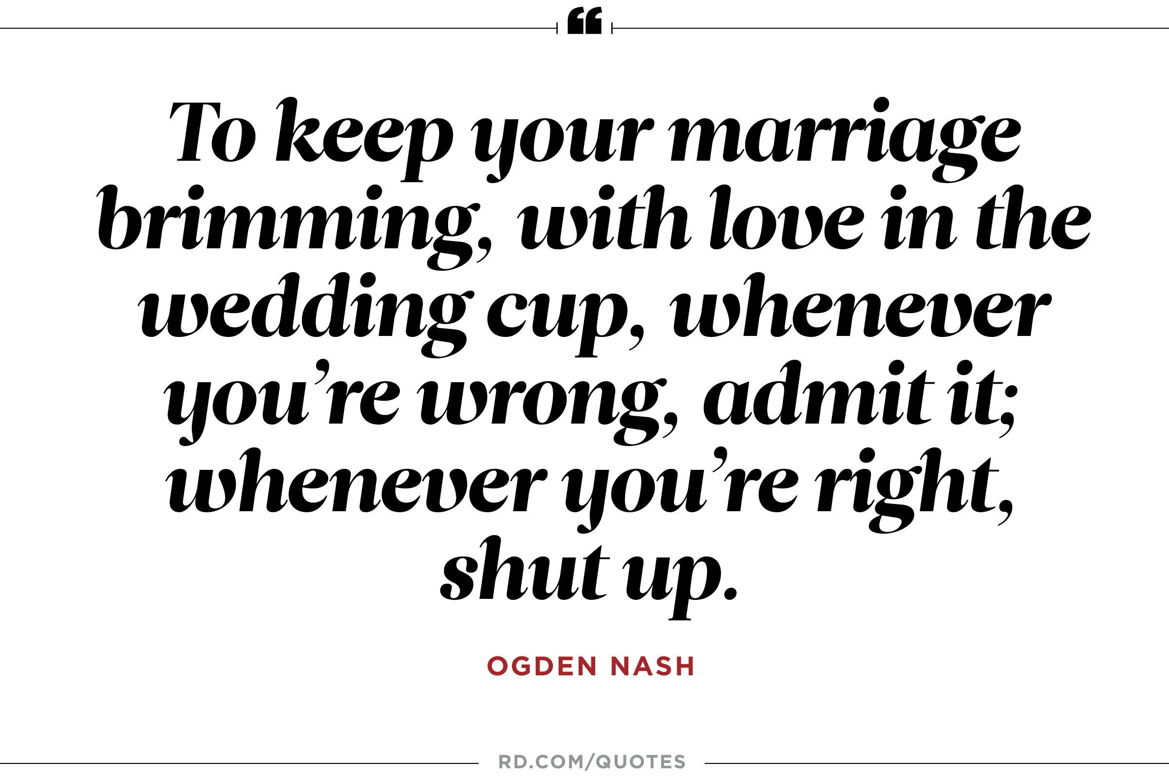 8 Funny Marriage Quotes From the Greatest Wits of All Time  Readers Digest