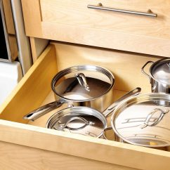 Kitchen Pots And Pans Booths For Sale How To Organize Reader S Digest Turn Cabinets Drawers
