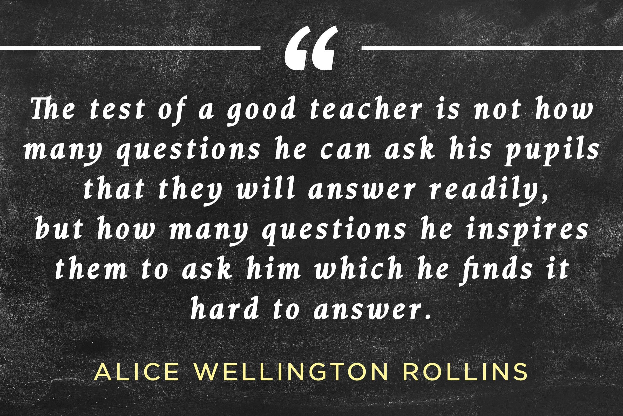 inspirational teacher quotes reader