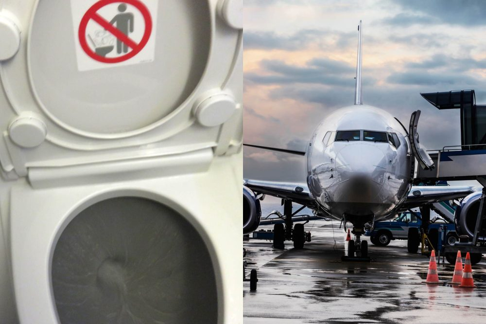 medium resolution of what actually happens when you flush an airplane toilet