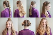 vacation hairstyles travel-friendly