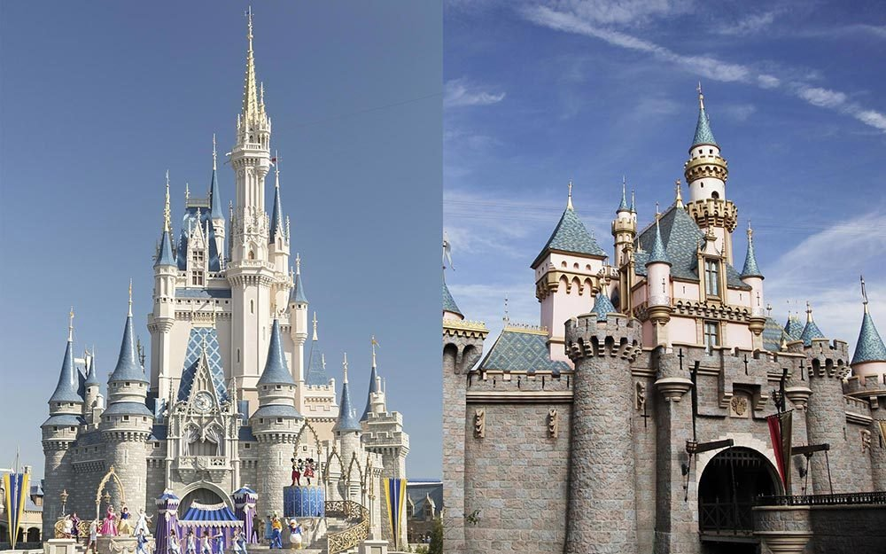 differences between disneyland and