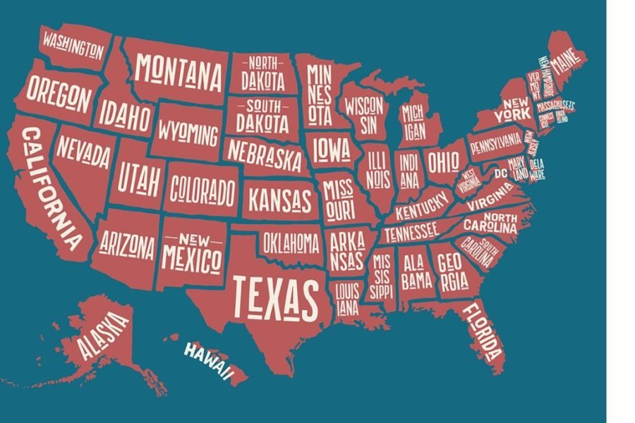 Guess The One Letter Thats Not In Any Us State Name
