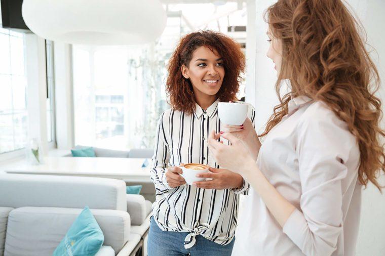 Woman-enjoying-coffee