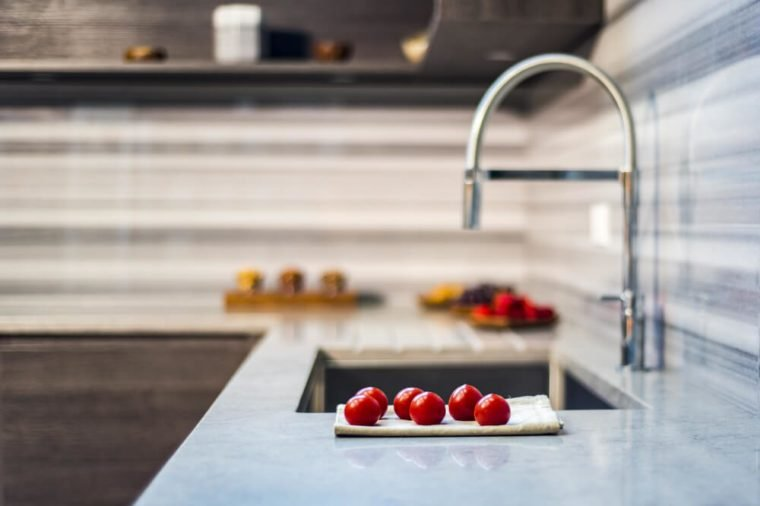 Kitchen counter tops of granite marble and quartz, granite kitchen countertops, assortment kitchen counters, countertop samples, granite counter colors, kitchen worktops on marble counter