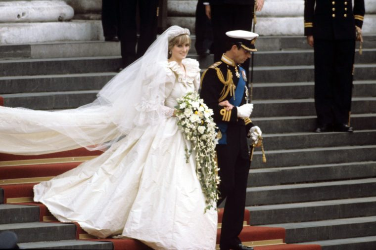 Princess Diana Had a Secret Backup Wedding Dress   Reader ...