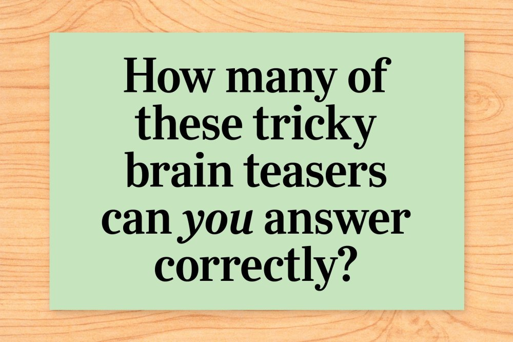 medium resolution of 56 Brain Teasers That Will Leave You Stumped   Reader's Digest