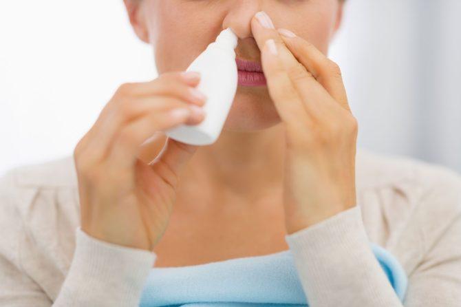 Rinse with saline before symptoms strike.