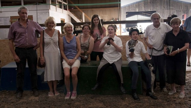 Some of our winners with Tom & Liz and Tony & Sheila