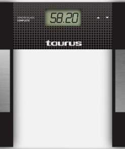 BATHROOM SCALE TAURUS SYNCRO GLASS COMPLET