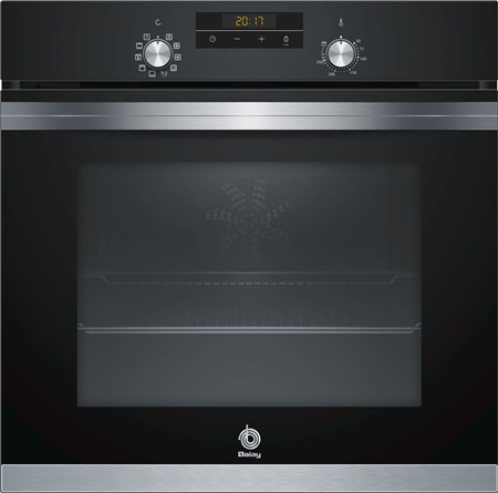 MULTIFUNCTION OVEN BLACK WITH AQUALISIS SYSTEM BALAY 3HB4331N0