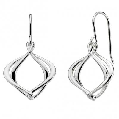 Kit Heath Bevel Curve Link Bracelet in Sterling Silver