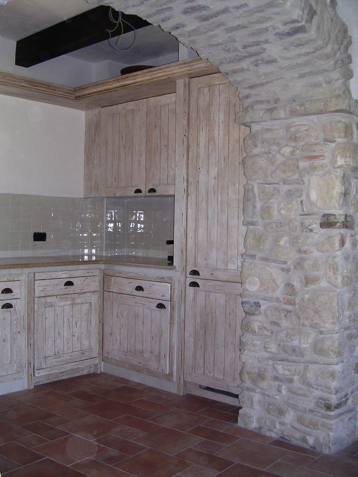 Cucina in muratura  Falegnameria RD Arredamenti srl