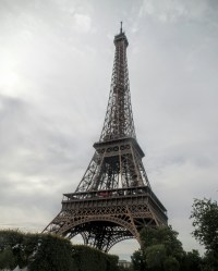 The Eiffel Tower, in case you haven't seen any photos of it.