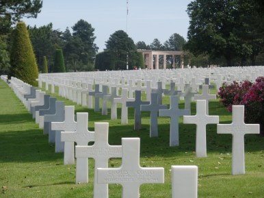 National Cemetery, viewing across to the main memorial.