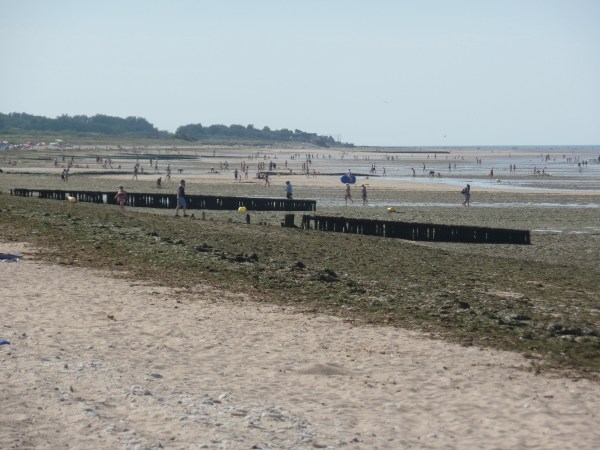 The beaches of Normandy are back to being popular tourist spots.