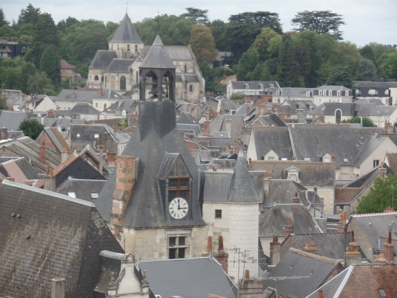 Rooftops of the narrow, twisting streets in Ambroise.