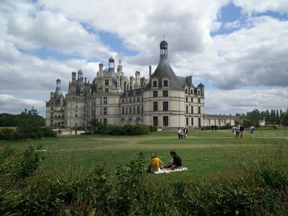 Chambord, a UNESCO World Heritage sight